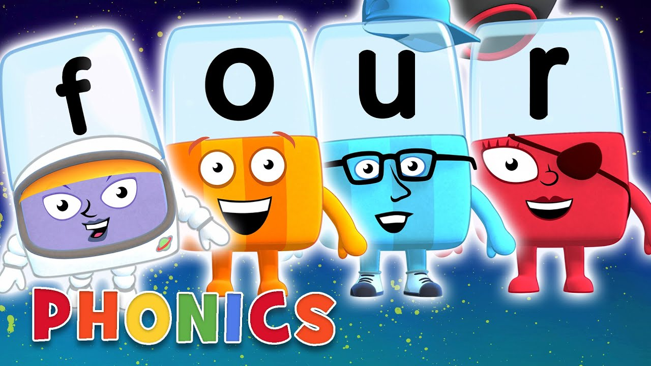 Download Phonics - Learn to Read | Four Letter Words | Alphablocks
