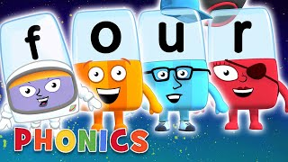 Phonics - Learn to Read | Four Letter Words | Alphablocks