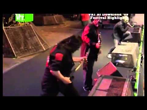 Slipknot - Wait and Bleed live (HD_DVD Quality)_(720p)