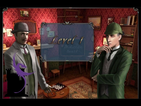 Sherlock Holmes -  The Mystery of the Persian Carpet -  Level 1 |
