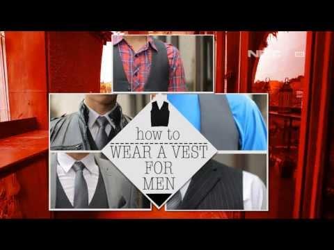 Ilook Men How To Wear A Vest