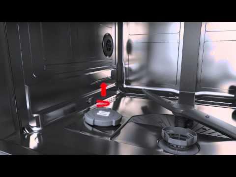 Uzupełnianie soli w zmywarkach Bosch