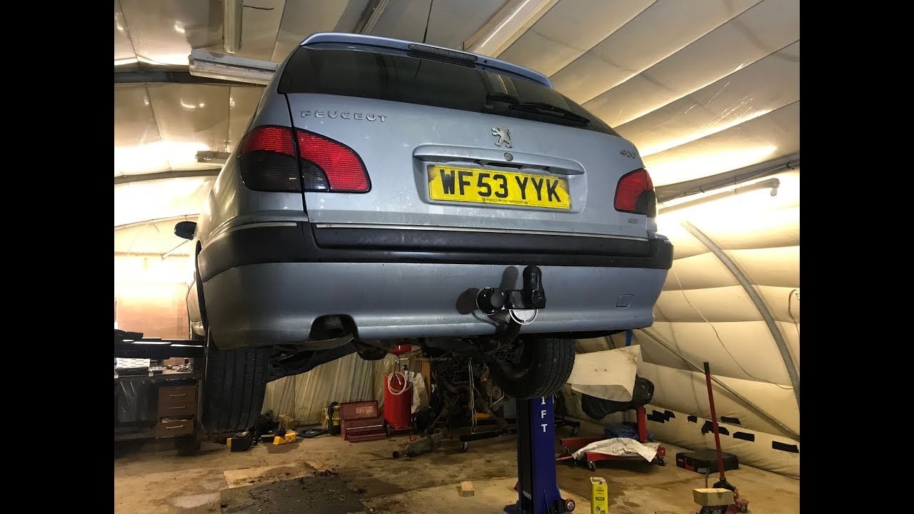 how to install a tow bar peugeot 406 estate [ 1280 x 720 Pixel ]