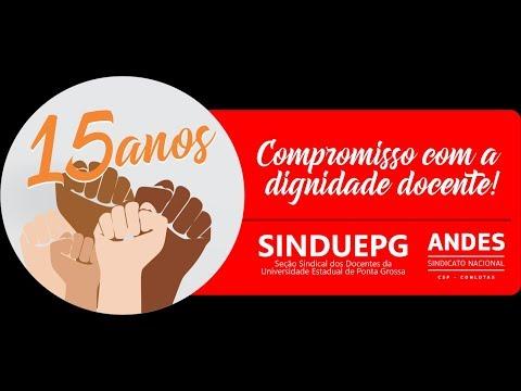 15 ANOS SINDUEPG