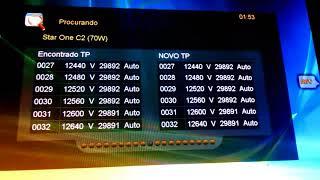 A NOVA ATUALIZAÇÃO AZAMERICA S1005 E CONFIGURAÇÃO E CORREÇÕES POWER-VU(31/01/2018)