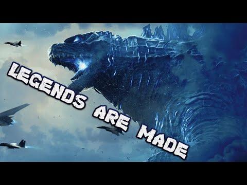 GODZILLA//TRIBUTE//Music Video//Legends ARE Made