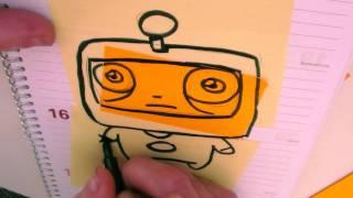 How To Draw A Cartoon Astronaut  by Garbi KW (Graffiti office)