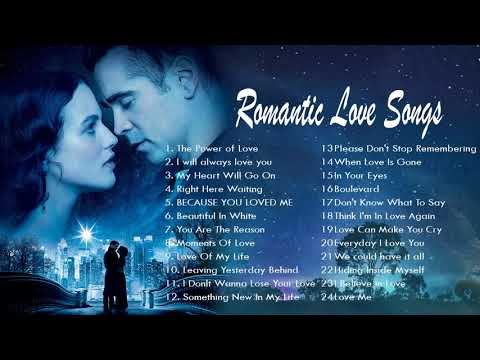 Love Songs Of All Time - Greatest Romantic Love Songs - Best Love Songs 70's 80's 90's Playlist