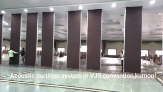 Acoustic Partition system in VJR Convention