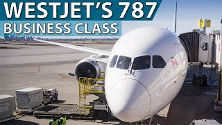 WestJet's Brand New 787 Business Class | Calgary to Toronto