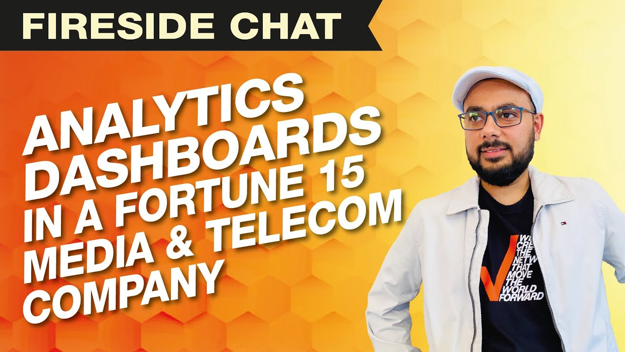 Analytics Dashboards in a Fortune 15 Media & Telecom Company