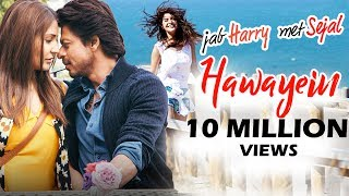 Shahrukh's hawayein song creates record - most viewed song - jab harry met sejal