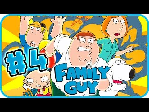 Family Guy Walkthrough Part 4 (PS2, PSP, XBOX) Stomach Trouble + Neighborhood Rumble