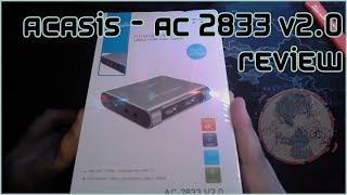 Unboxing review and testing for ACASIS AC-2833 V2.0 by RygKey