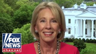 Cavuto grills Betsy DeVos on the administration's push to reopen schools