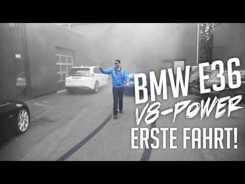 JP Performance - BMW E36 V8 | Erste Fahrt!