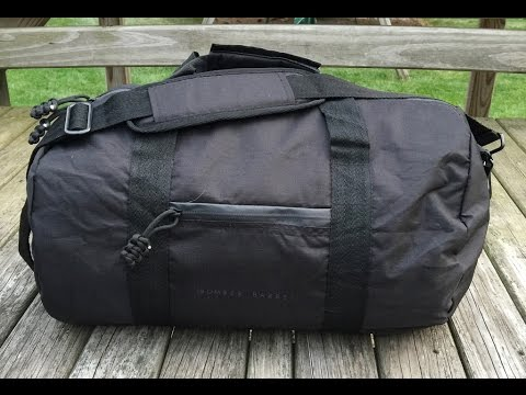 Review  Bomber   Company Bomber Barrel Duffle - YouTube 52f153d610