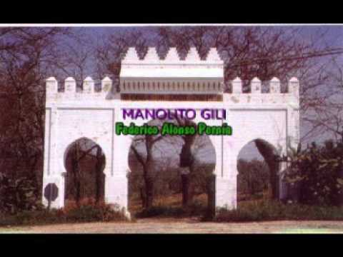 MANOLITO GILI  con la guitarra de MANUEL MONGE FANDANGOS DE LA DROGA
