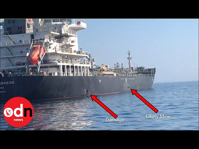 US releases new footage of Iran tanker attack