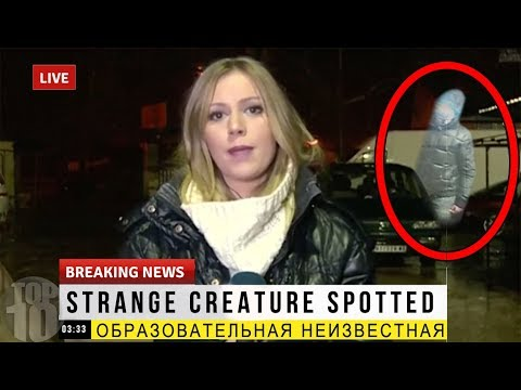 30 CREEPIEST MOMENTS RECORDED ON LIVE TV | Compilation