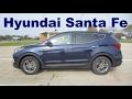 2017 Hyundai Santa Fe Sport 2.4 L AWD - Rental Car Review and Test Drive