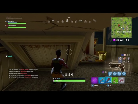 Fortnite 5000 channel views and 400 sub goal