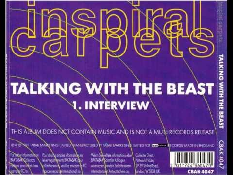 Inspiral Carpets - Talking With The Beast - Interview CD