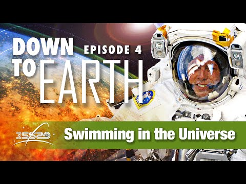 Down to Earth Swimming in the Universe