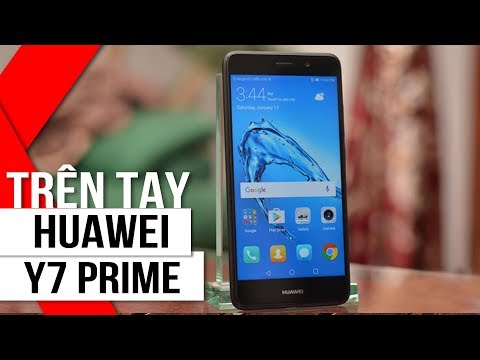 FPT Shop - Trên tay Huawei Y7 Prime: RAM 3GB, pin 4.000 mAh, Android 7
