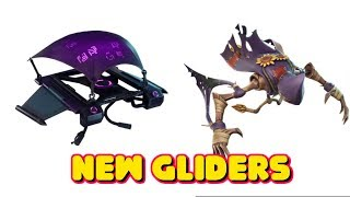 LEAKED DARK BOMBER GLIDER AND SCARECROW GLIDER IN FORTNITE