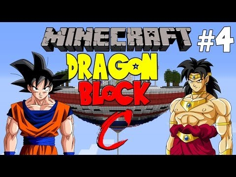 Minecraft : Dragon Block C w/ Crunchy & MiniCrunchy Pt. 4 - DINOSAURS!!
