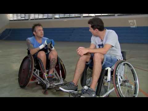 Rugby em Cadeira de Rodas com Fabio Ferreira  - Vida de Atleta (10/07/16)