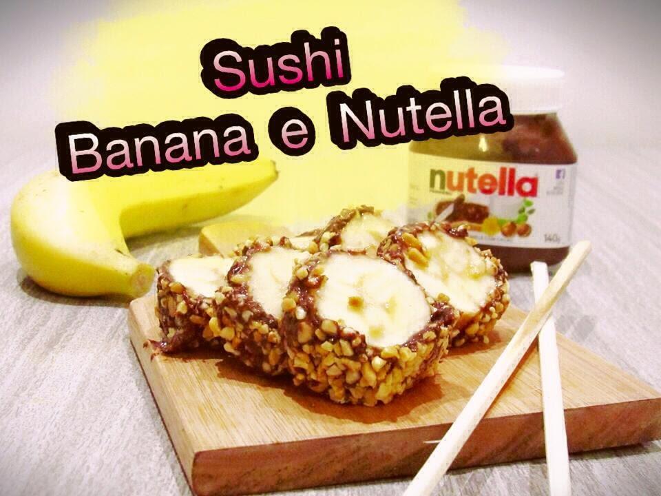 Muito Sushi de Banana com Nutella | May na Cozinha - YouTube IE88