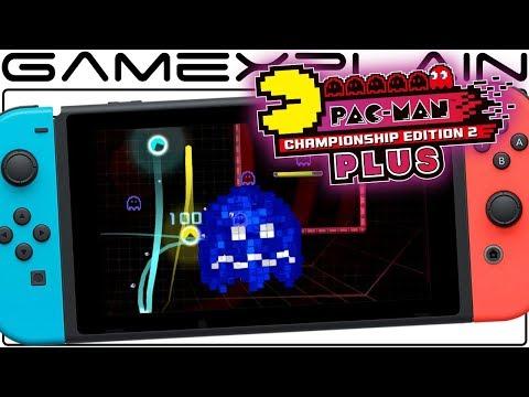 Pac-Man CE2 Plus - NEW 2-Player Gameplay (Nintendo Switch)