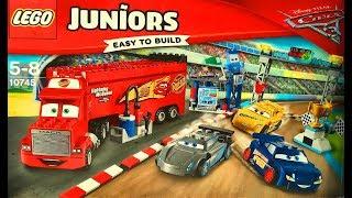 Лего Тачки 3 Мультики про Машинки Молния Маквин Крус Рамирес Флорида 500  Lego Cars 3