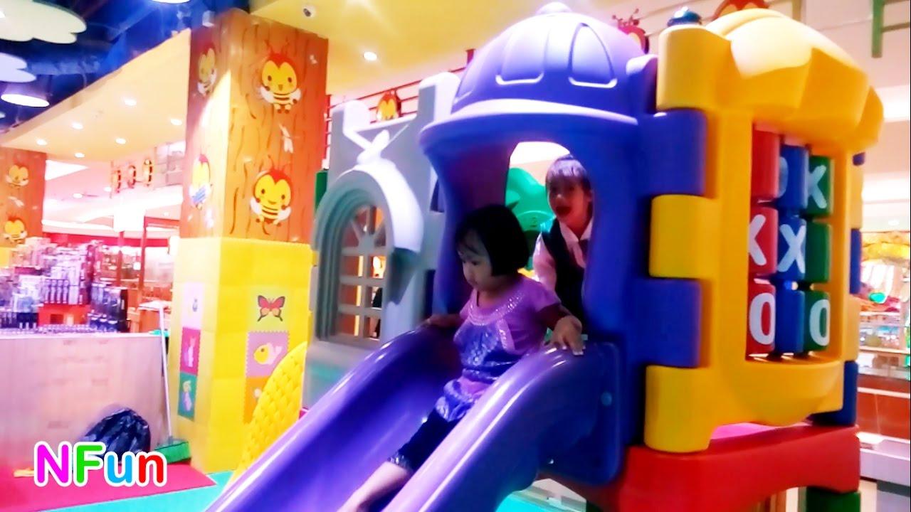 Mainan Anak Bersama Teman Asyik Sekali Stasiun Pusat Permainan Anak