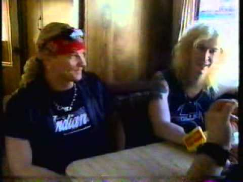 Guns N' Roses Interview, Toronto, July 1991