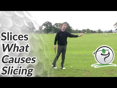Golf Slice – What Causes Slicing