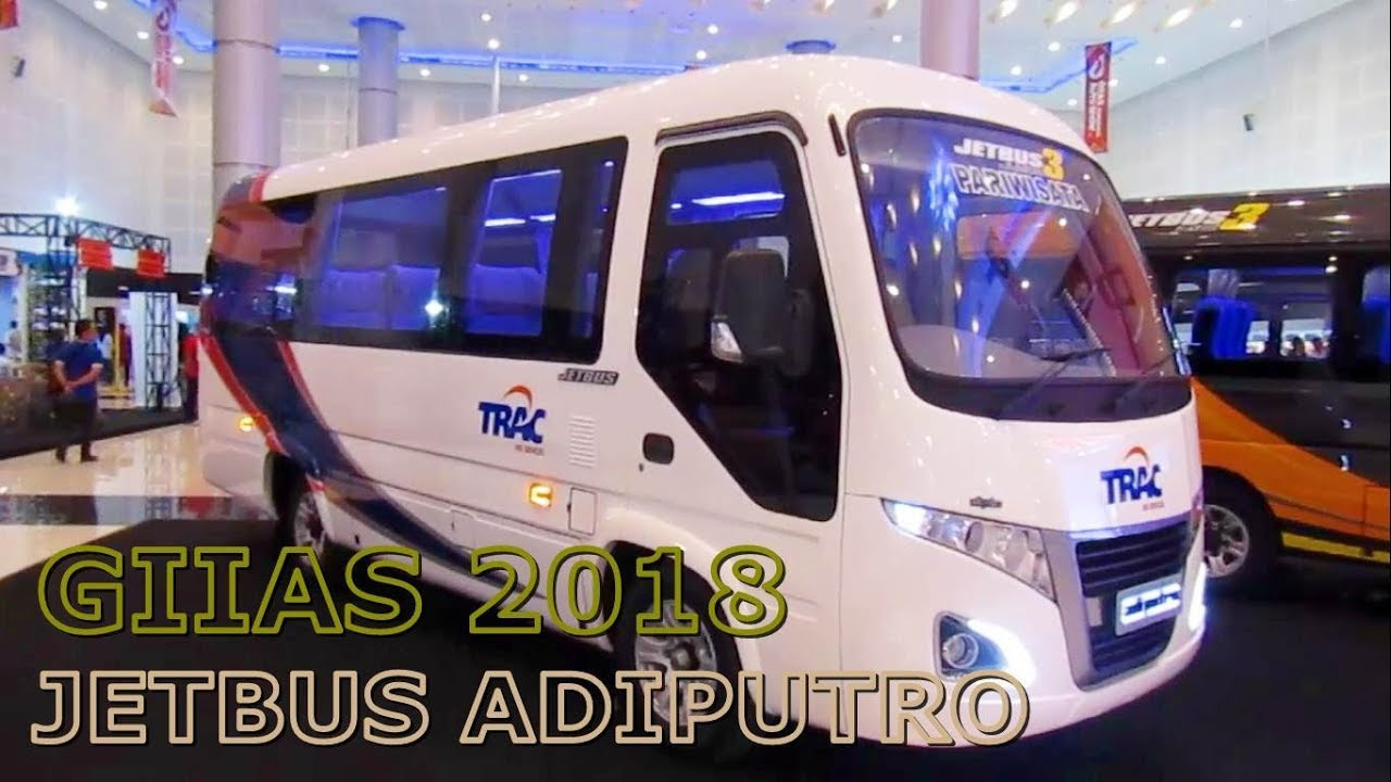 Hino Dutro Jetbus 3 Jumbo Adiputro Karoseri Interior Exterior Walkaround 2018 Giias Surabaya