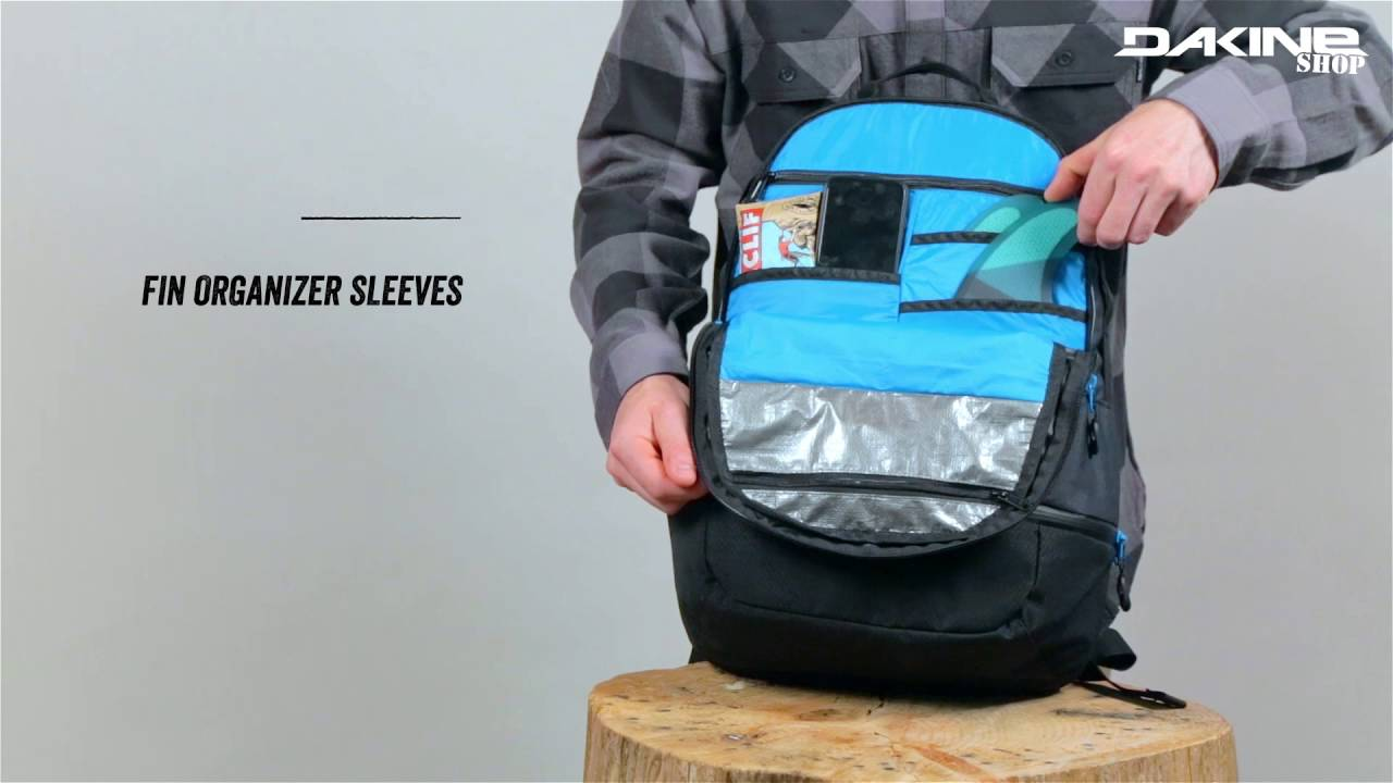 Dakine Interval Wet / Dry Functional Surf Pack with Wet Pocket ...