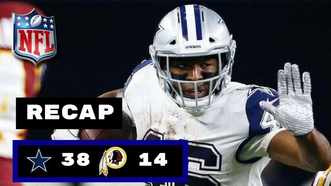 2651ae51cd0 Dallas Cowboys vs Washington Redskins Week 13 Thursday Night Football Recap