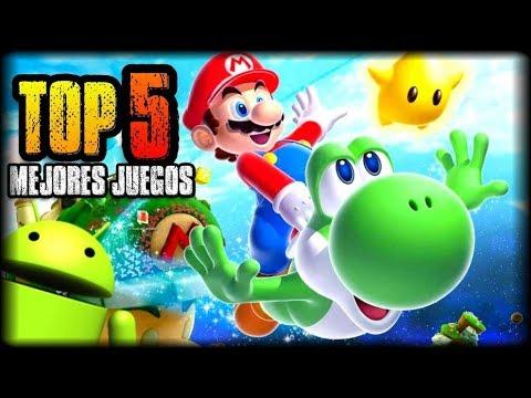TOP 5 MEJORES JUEGOS DE SUPER MARIO BROS HD PARA ANDROID - NO OFICIALES - APK