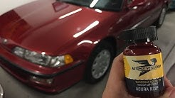 Quick Paint Project:  Automotive TouchUp on the 1992 Integra