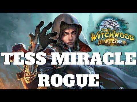 RETURN OF TESS! Hearthstone Tess Miracle Rogue #2