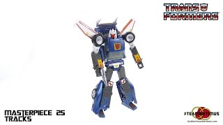 TakaraTomy Transformers MP-25 Masterpiece Tracks Video Review