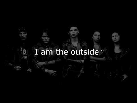 Black Veil Brides - The Outsider (Lyrics)