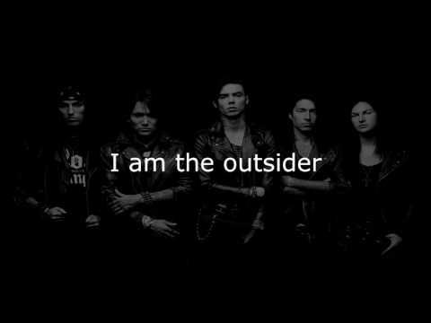 Black Veil Brides - The Outsider (Lyrics)