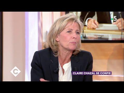 Claire Chazal se confie - C à Vous - 11/05/2018
