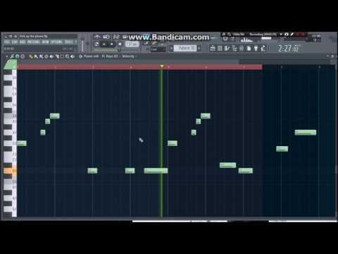 Pick Up The Phone - Travis Scott (FL Studio Remake)