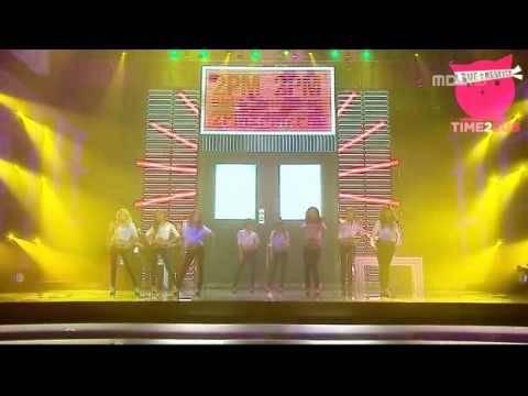 091231 MBC Gayo DaeJun - 2PM + SNSD Eng